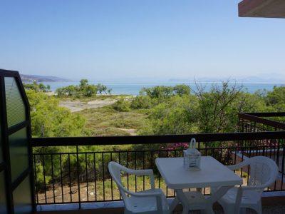 Mari-Rena Plaz - Paralio Astros - balcony - sea view