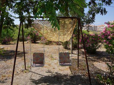 Mari-Rena Plaz - Paralio Astros - garden swings